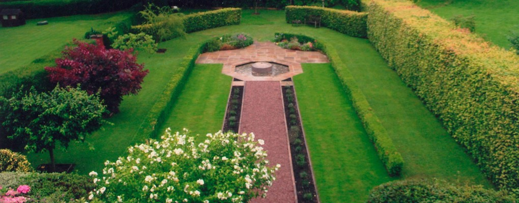 Garden design and landscaping in ludlow for Redesign your garden